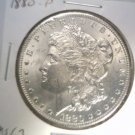 1880 Morgan Silver Dollar Choice Brilliant Uncirculated