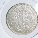 1931 Great Britain Extra Fine Silver 1/2 Crown Coin KM#845 .2258 ASW