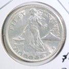 1944 S Philippines Silver 50 Centavos Coin BU KM#183 .2396 ASW  #1