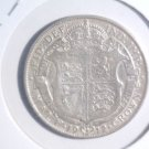 1912 Great Britain Silver 1/2 Crown Coin KM#818.1  .4177 ASW