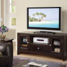 Dark Brown Finish TV Stand - FREE DELIVERY IN SOUTHERN CALIFORNIA
