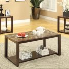 Faux Marble Table Top 3pc Coffee Table Set - FREE DELIVERY IN SOUTHERN CALIFORNIA