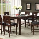 Primrose II Dark Walnut Finish 7pc Counter Height Dining Set - FREE DELIVERY IN SOUTHERN CALIFORNIA
