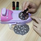 Nail Art DIY Color Printing Machine Polish Stamp 6 Pcs Pattern Template Kit Set