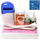 Hair Removal Roll-On Depilatory Heater Wax Waxing Treatment Spray Lotion Set