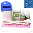 5in1 Hair Removal Roll-On Depilatory Heater Wax Pre Post Waxing Treatment Set