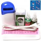 5in1 White Hair Removal Roll-On Depilatory Heater Waxing Warmer Full Tools Kit