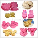 Animal Cookie Fondant Cake Sugarcraft Chocolate Decorating Plunger Cutter Molds