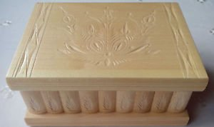 New big huge wooden puzzle secret magic jewelry box case handcarved storage box