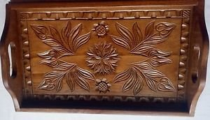 New wooden,handcarved tray,salver,decorative plate,home decor,serving dish,gift