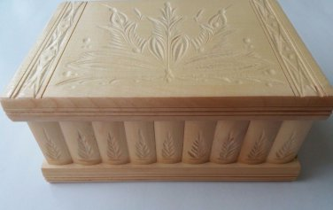 New big,huge handcarved natural wooden jewelry secret magic puzzle box case gift