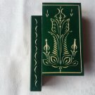 New handmade wooden secret magic puzzle box surprise wizard mystery book