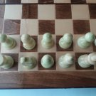 New handcraft chess, hazel wood chess piece,32x32cm chessboard box,wooden chess