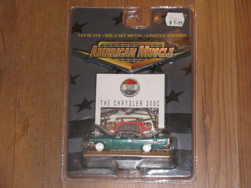Ertl 1:64 American Muscle 1957 Chrysler 300C 2000 Ltd.
