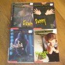 Lot 4 California Diaries by Ann M. Martin Maggie, Amalia, Sunny, Dawn