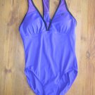 New Womens Sz 10 ZeroXposur Amethyst One Piece Swimsuit