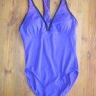 New Womens Sz 12 ZeroXposur Amethyst One Piece Swimsuit