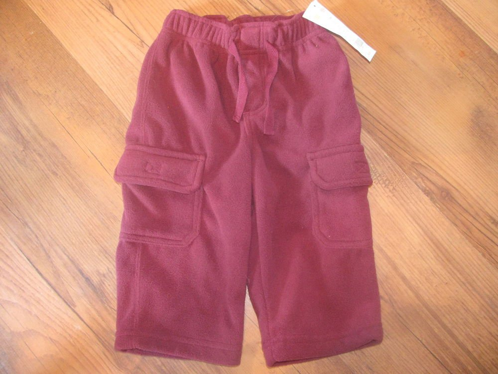 New Baby Boys Sz 6/12 M Gymboree Fleece Pants