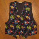 Womens Sz S Betty Boop Licensed By Accessory Network Vest EUC