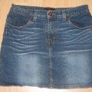Womens/Juniors Sz 9/10 U.S. Polo Assn.Blue Jean Mini Skirt EUC