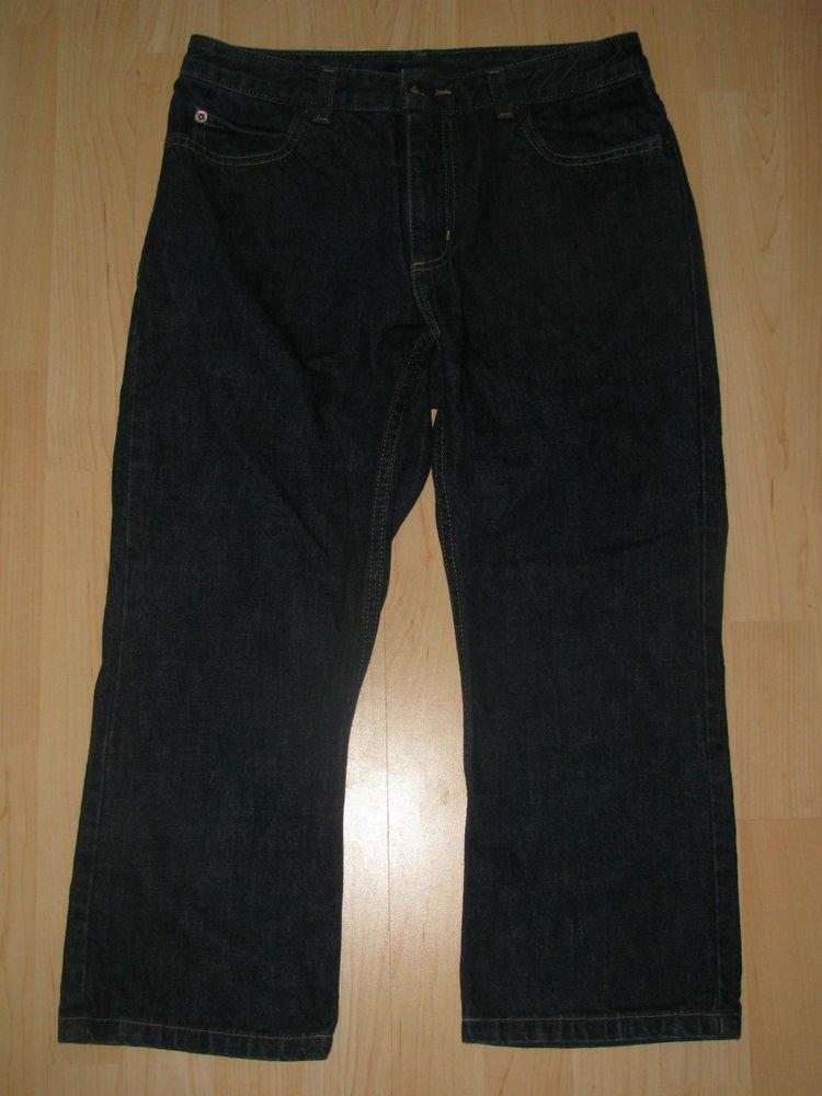 Womens Sz 6 The Limited Capri/Crop Blue Jeans EUC