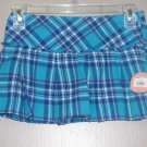 New Girls Sz 8 SO Pleated Plaid Skort Retails $26