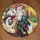1994 Avon The Wonder of Christmas Porcelain Plate Trimmed in 22 Carat Gold