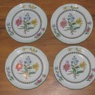 4 Spode Summer Palace Bread & Butter Plates Fine Stone England W150