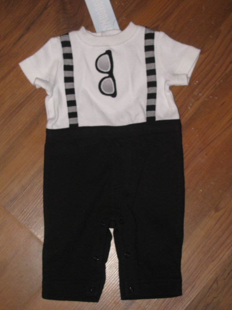 New Baby Boys Sz NB 5-9 lbs Gymboree One Piece Sunglasses Outfit Retails $30
