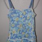 New Womens Sz S LC Lauren Conrad Spaghetti Strap Summer Blouse/Top Retail $34