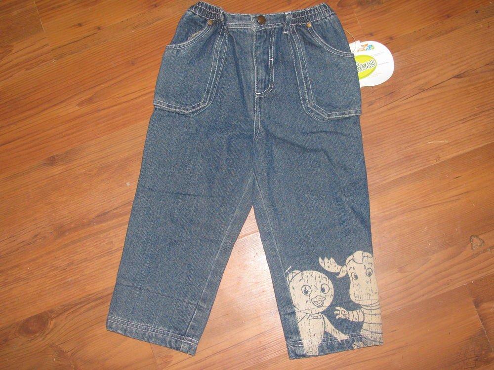 New Boys Sz 3T Nick Jr. Backyardigans Blue Jeans