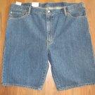 New Mens Sz 42 Levi Strauss 505 Regular Blue Jean Shorts At Waist Above Knee