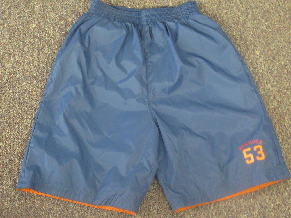 New Boys Sz 7X OshKosh Reversible Shorts $26