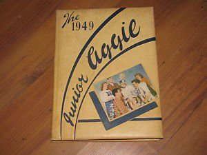 THE JUNIOR AGGIE 1949 YEARBOOK North Texas Agricultural College ARLINGTON TEXAS