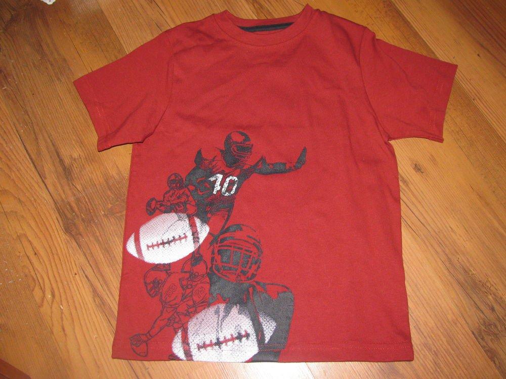 New Boys Sz 3 Gymboree Football T-shirt