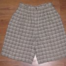 Womens Sz 4 Ambitions Linen Blend Bermuda Walking Shorts EUC
