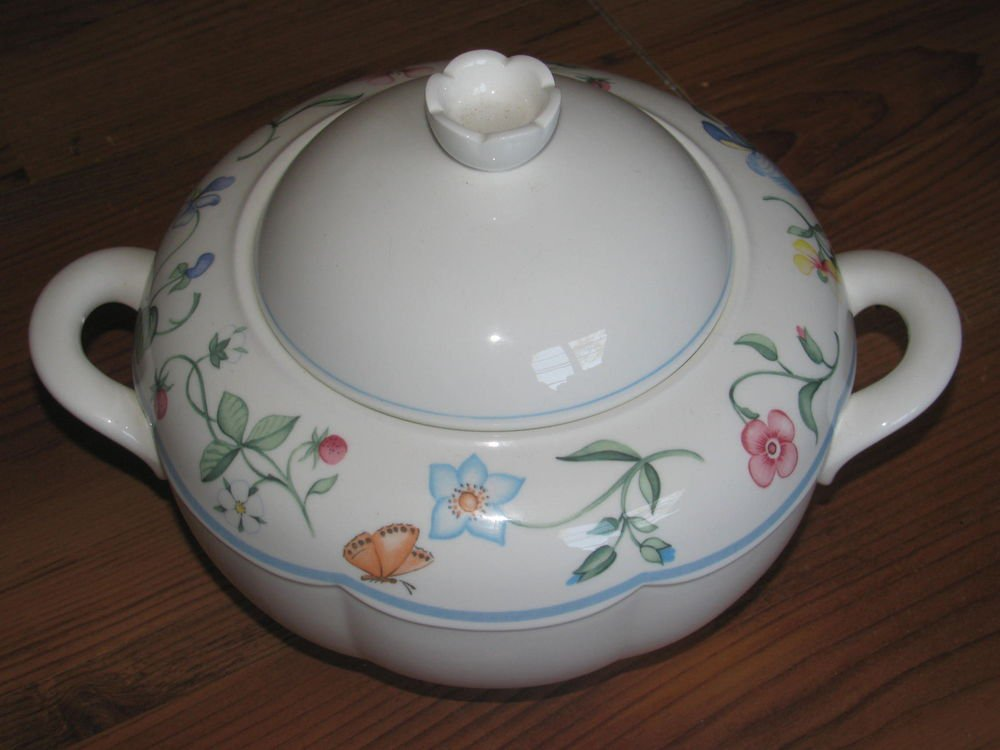 Villeroy & Boch Mariposa Covered Vegetable Dish Perfect