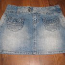 Jr. SO Sz 3 Jean Skirt EUC