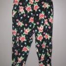 Womens Sz 8 P Rebecca Malone Floral Capri Pants EUC