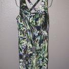 New Womens Sz L Jennifer Lopez Sleeveless Knit Dress Retails $60