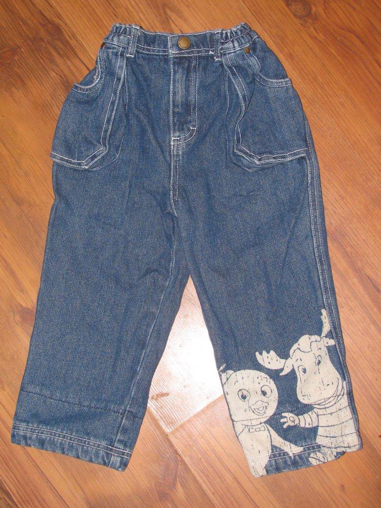 Boys Sz 3T Nick Jr. Backyardigans Blue Jeans EUC
