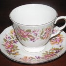 Vintage Colclough Wayside Bone China Cup and Saucer Set England