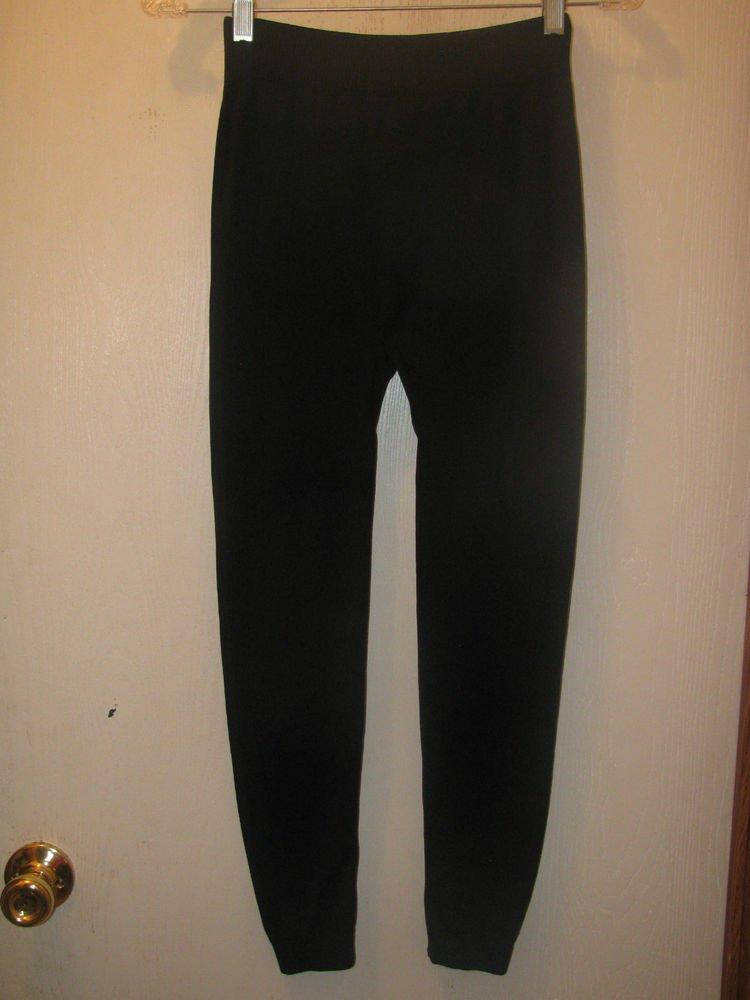 New Womens Bay6 New York One Size Black Jeggings/Leggings