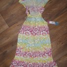 New Girls Sz 5 Hang Ten Summer Dress Retails $34