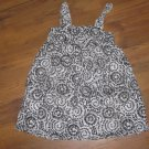 New Girls Sz 4T Chelsea's Corner Black/White Sleeveless Dress