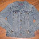 Girls Sz S (7) Austin Clothing Company Blue Jean Jacket EUC