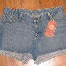 New Junior Sz 11 Lee Blue Jean Shorts