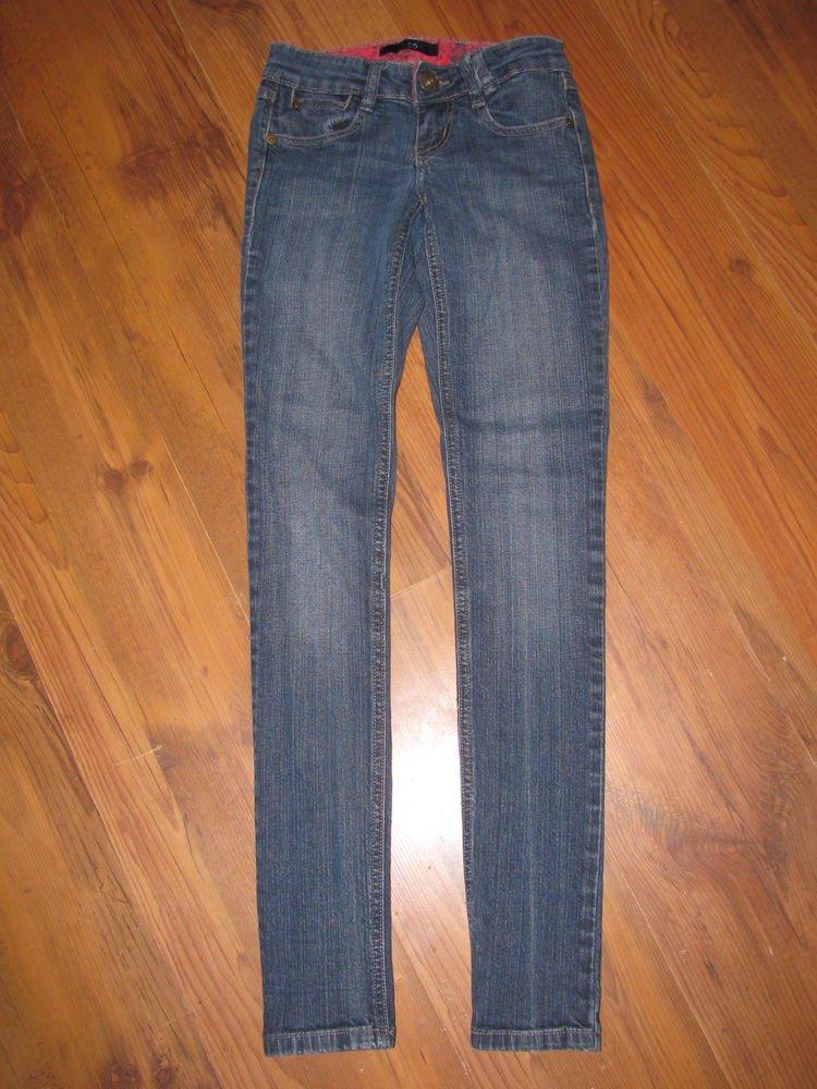 Womens/Jr. Sz 0 Zco Skinny Blue Jeans EUC