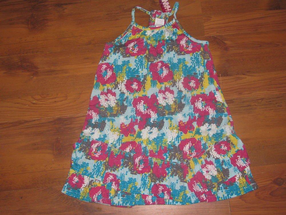 New Girls Sz 6 Hang Ten Sleeveless Summer Dress Retails $34