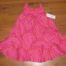 NewToddler Girls Sz 24 M Maggie & Zoe Pink/Orange Sleeveless Dress